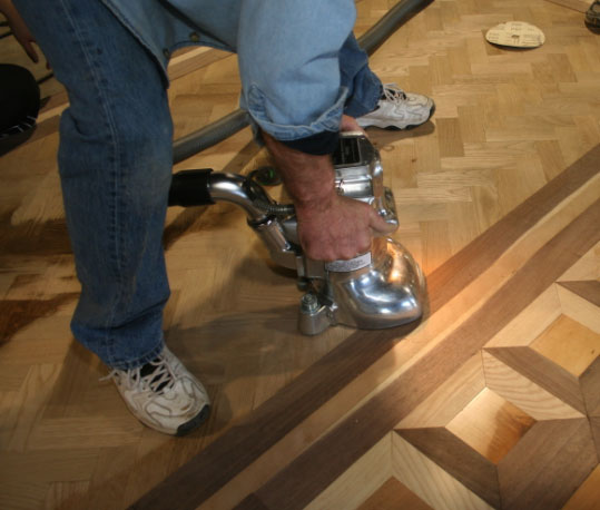 Sanding Finishing A New Floor
